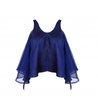 Pull femme bleu
