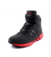 OWUNDY'S: Basket Homme Noir et Rouge