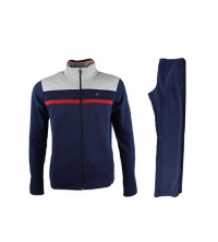 BILLCEE MEN'S KNITTED TRACKSUITS TEAM Bleu Marine 51M8006-993