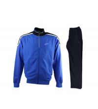BILLCEE: BILLCEE MEN'S KNITTED TRACKSUITS TEAM Bleu 14K6000-A21
