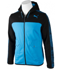 Puma: TECH GRAPHIC HOODED JACKET