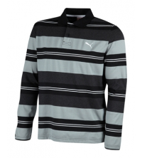 STRIPED LS POLO