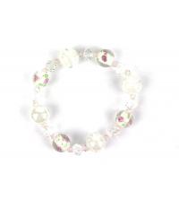 TOPAZE: Bracelet Blanc