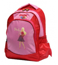 Gemus: Sac à dos GEMUS 103 Kid's World Blondy 30X14X40CM ROSE / ROUGE - Spécial lycéen