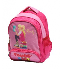 Gemus: Sac à dos GEMUS 104 Kid's World Blondy Rose 25X12X35CM - Spécial lycéen