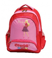 Gemus: Sac à dos GEMUS 104 Kid's World Blondy Rose/Rouge 30X14X40CM - Spécial lycéen