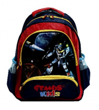 Gemus: Sac à dos GEMUS Kid's World 104 BLEU/Rouge 30X14X40CM - Gemus Space Spécial lycéen