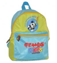 Sac à dos GEMUS Kid's World PANDA VERT/BLEU - Spécial Maternelle