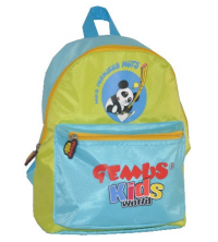 Gemus: Sac à dos GEMUS Kid's World PANDA VERT/BLEU - Spécial Maternelle