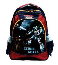 Gemus: Sac à dos GEMUS Kid's World Gemus Space BLEU / ROUGE - Spécial Maternelle