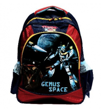 Sac à dos GEMUS Kid's World Gemus Space BLEU / ROUGE - Spécial Maternelle