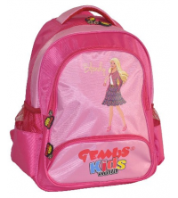 Gemus: Sac à dos GEMUS Kid's World Blondy Rose - Spécial Maternelle