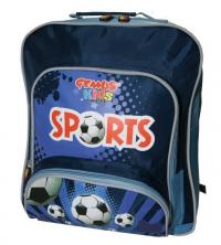 Gemus: Sac à dos GEMUS Kid's World Sports BLEU - Spécial Enfant