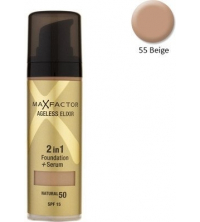 FOND DE TEINT AGELESS ELIXIR 2 IN 1 FOUNDATION AND SERUM (BEIGE) 55