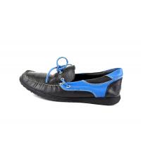 EVASION: Mocassins Noir et Bleu