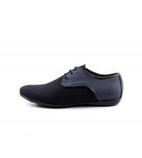 Chaussures à lacets Bleu 700-BB Famoso