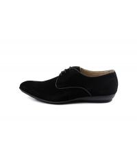 Sergio Martinelli: Chaussures à lacets Noir 2400-N Sergio Martinelli