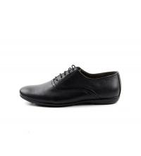 FAMOSO: Chaussures à lacets Noir 305-N Famoso
