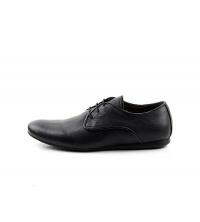 FAMOSO: Chaussures à lacets Noir 700-NC Famoso