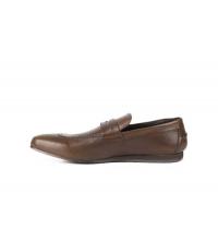 Chaussures de ville Cognac F252-FRANCOIS Toscani