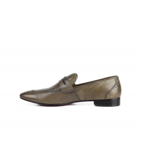 Chaussures de ville gris - vert