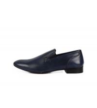 Chaussures de ville Bleu 206-CHRISTOPHE-VEGTAL-BLEU Toscani