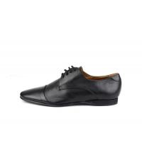 Chaussures à lacets Noir 2524-N Pied de Star