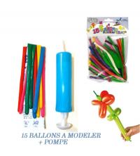BALLON A MODELER X15 + POMPE M72