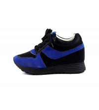 Basket Noir/Bleu 022-RQ328-1ANB