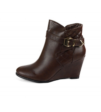 Maelyss: Maelyss Bottines Marron M006-25-M