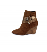 Poti Pati: Bottines Marron