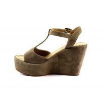 OLI-4 Sandale Daim Beige DO785-BG