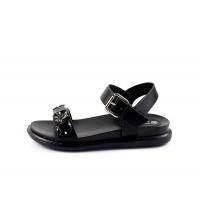 Sandales plates Noir 055A-59-N