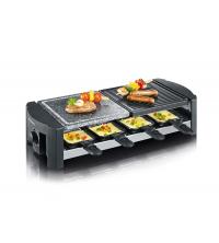 Grille Raclette avec Pierre naturelle de cuisson