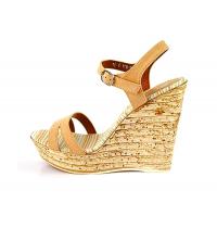 Sandales compensées Beige - P1817-3-BG