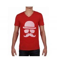 T-shirt imprimé Homme Rouge - VMR001