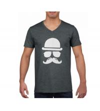 T-shirt imprimé Homme Gris- VMG001
