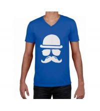T-shirt imprimé Homme Bleu - VMB001