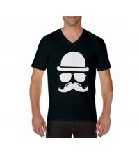 T-shirt imprimé Homme Noir - VMN001