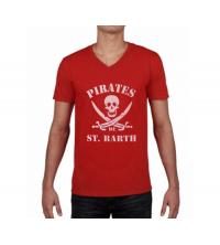 T-shirt imprimé Homme Rouge - VPR001