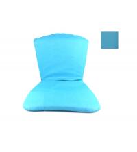 IKEDA Assie avec dossier bleu clair