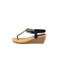 SIT 7 Sandales Noir - 6674-5N