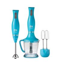 BLUE HOUSE Mixeur plongeant & Hachoir Bleu