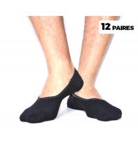 Tendance Pack de12 Chaussettes Noir CH-ETE-NR12