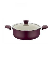 Faitout téflon violet Magenta de diamètre 26 cm