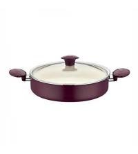 Mijoteuse téflon violet Magenta de diamètre 30 cm
