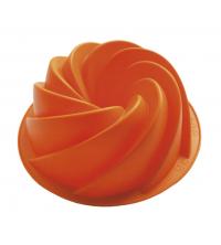 MSY SILICONE Moule à gâteau orange