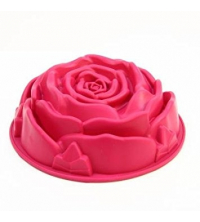 MSY SILICONE Rose Moule à gâteau Rose