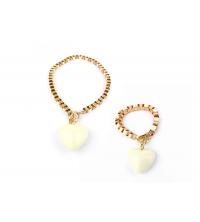 AMULETTE PACK Collier + Bracelet Blanc