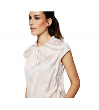 COMMA BLOUSE EN SATIN